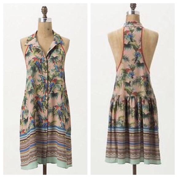 9aa2d618f0 Anthropologie Dresses   Skirts - AnthropologieDreamDaily Tropical Bird Summer  Beach